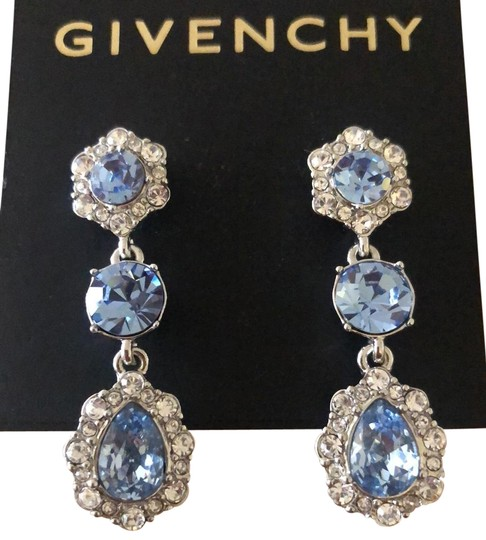 Preload https://img-static.tradesy.com/item/23822666/givenchy-blue-crystals-teardrops-earrings-0-7-540-540.jpg