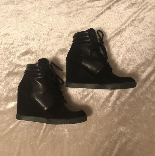 CafeNoir High Top Sneakers Sz39 Athletic Image 3