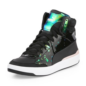 Alexander McQueen Hologram Chunky Sneakers Casual New black Athletic
