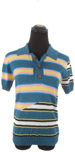 House of Holland Cotton Polo T Shirt Multi-Color