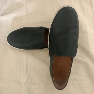 Frye Leather Slip On Sneakers Classic Comfort Black Athletic