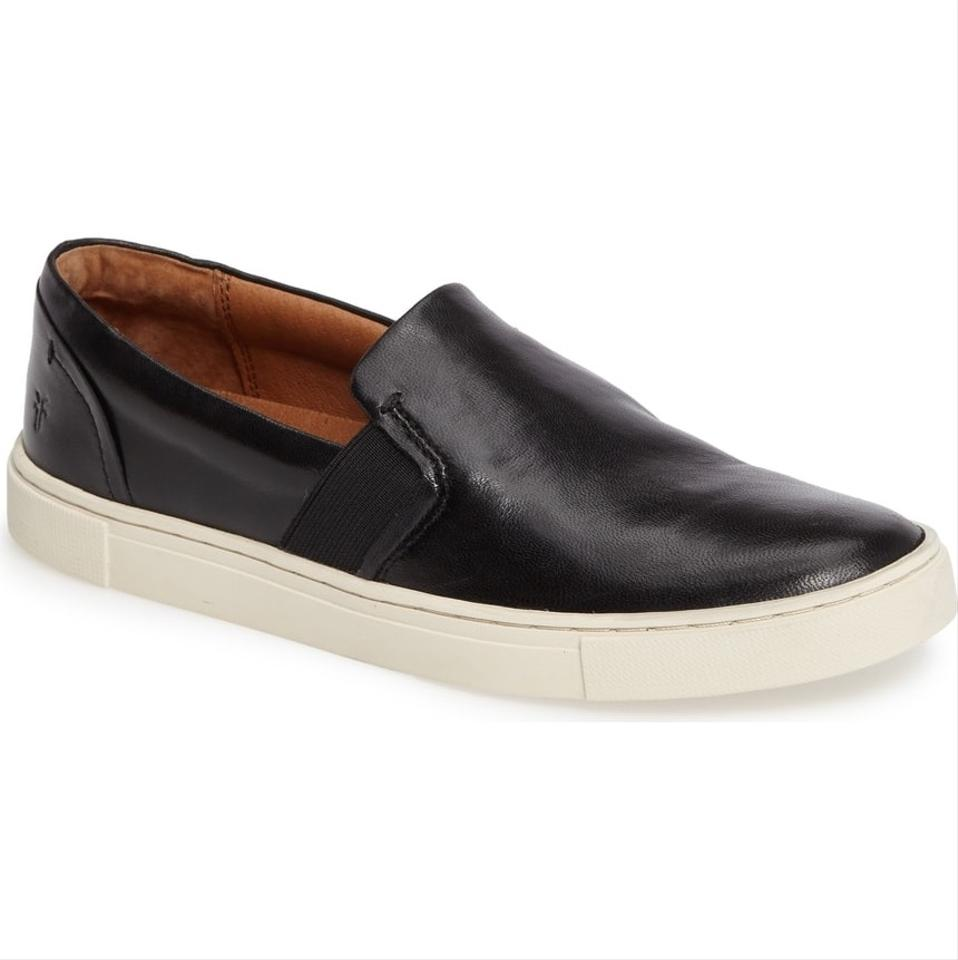 Slip Ivy Soft Frye Sneakers Black Sneakers on Leather SwwIq