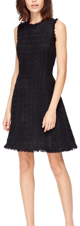 Kate Sparkle Formal Black Tweed Dress Spade rgwrFBq7