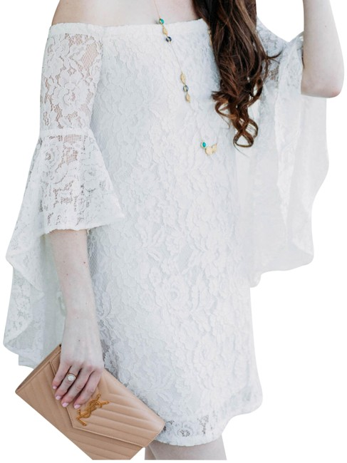 Preload https://img-static.tradesy.com/item/23822993/wayf-off-white-the-shoulder-lace-short-casual-dress-size-2-xs-0-2-650-650.jpg