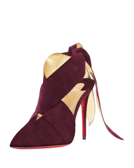 Preload https://img-static.tradesy.com/item/23823030/christian-louboutin-purple-ramour-100-merlot-suede-gold-lace-up-ankle-strap-tie-heel-pumps-size-eu-3-0-0-540-540.jpg