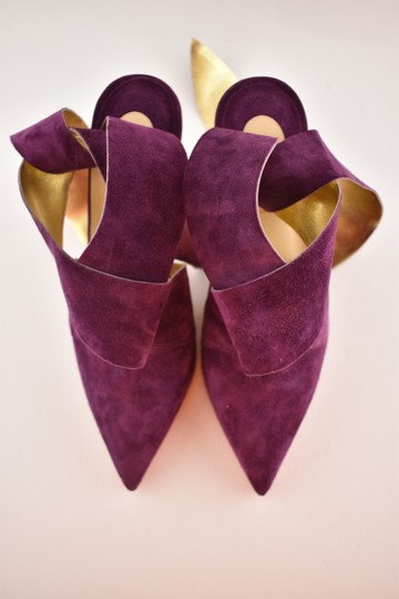 Christian Louboutin Stiletto Pigalle Strass Crystal Follies purple Pumps Image 6