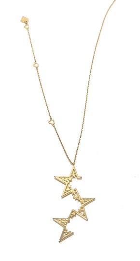 Other NEW 12k Gold Plated Supernova Star Necklace - FREE 3 DAY SHIPPING Image 1