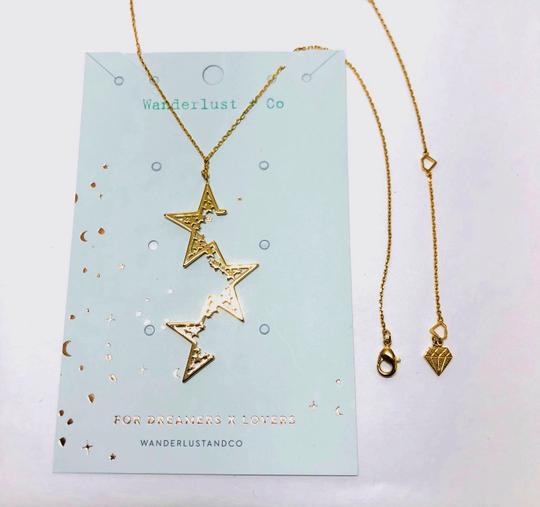 Other NEW 12k Gold Plated Supernova Star Necklace - FREE 3 DAY SHIPPING Image 2
