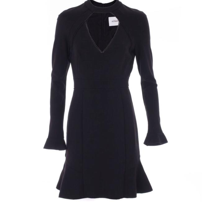 NICHOLAS Lace Winter Fall Chic Polished Dress Image 3