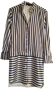 Other Shirt Stripes Silk Dress
