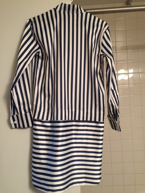 Other Shirt Stripes Silk Dress Image 1