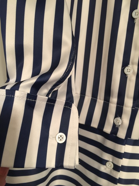 Other Shirt Stripes Silk Dress Image 2