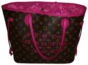 Louis Vuitton Tote in Indian Rose(Fuchsia)