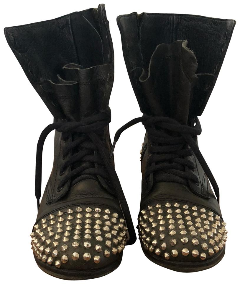 women Steve Madden Black Studded material Boots/Booties The highest quality material Studded 3583c2