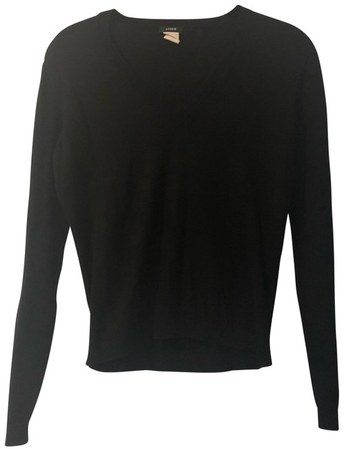 J.Crew V-neck Cotton Longsleeve Fall Winter Sweater Image 0