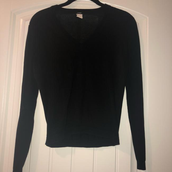 J.Crew V-neck Cotton Longsleeve Fall Winter Sweater Image 1