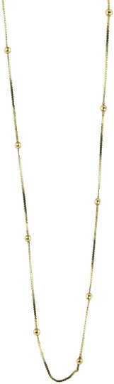 Preload https://img-static.tradesy.com/item/23823484/-14k-gold-small-ball-stations-necklace-0-1-540-540.jpg