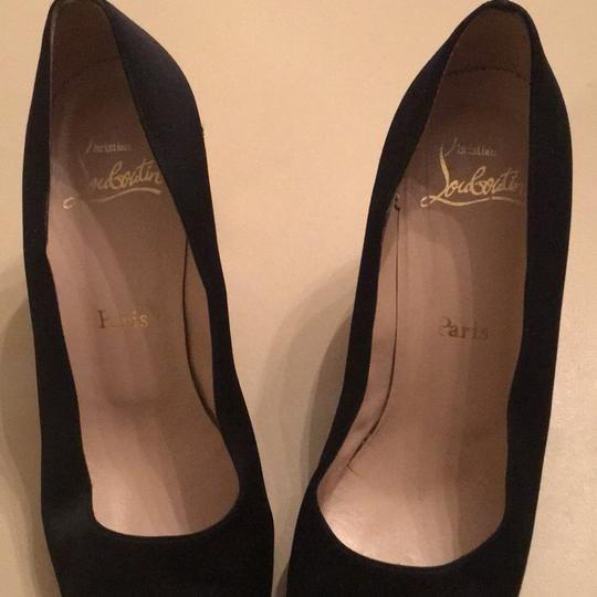 Christian Louboutin black and gold Pumps Image 4