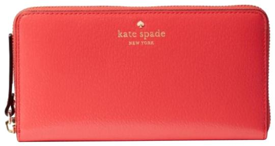 Preload https://img-static.tradesy.com/item/23823692/kate-spade-red-leather-crab-grand-street-wallet-0-2-540-540.jpg