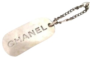 Chanel [ENTERPRISE]Dog Tag Key Chain CCTLM12