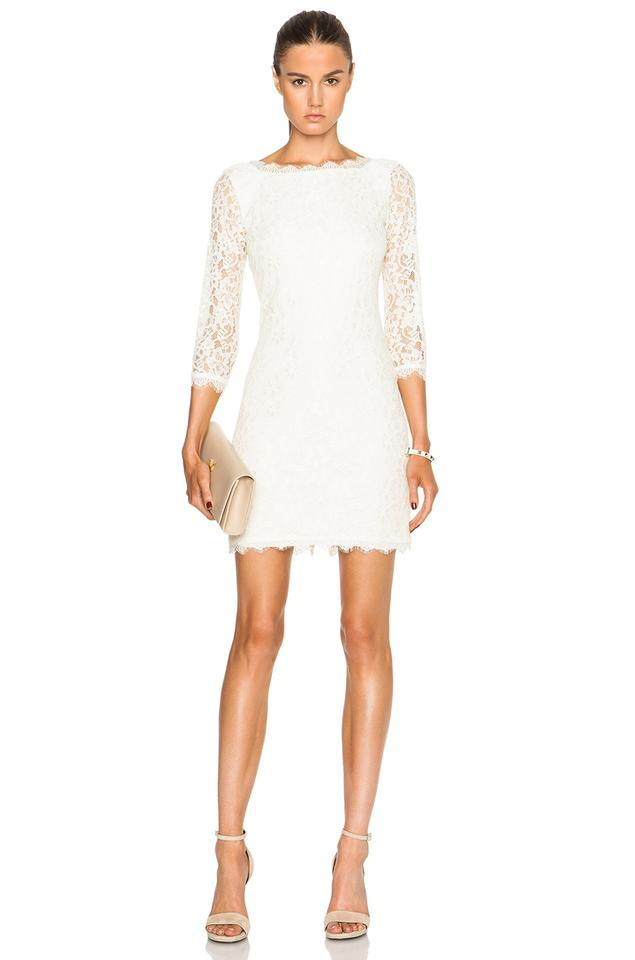 Dress Zarita Dvf Furstenberg Lace Ivory von Cocktail Diane wI0aqq