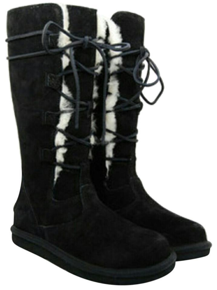 1eb9ad1d8a8 Black Whitley Boots/Booties