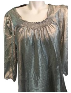 Allison Taylor Top Gray Silver