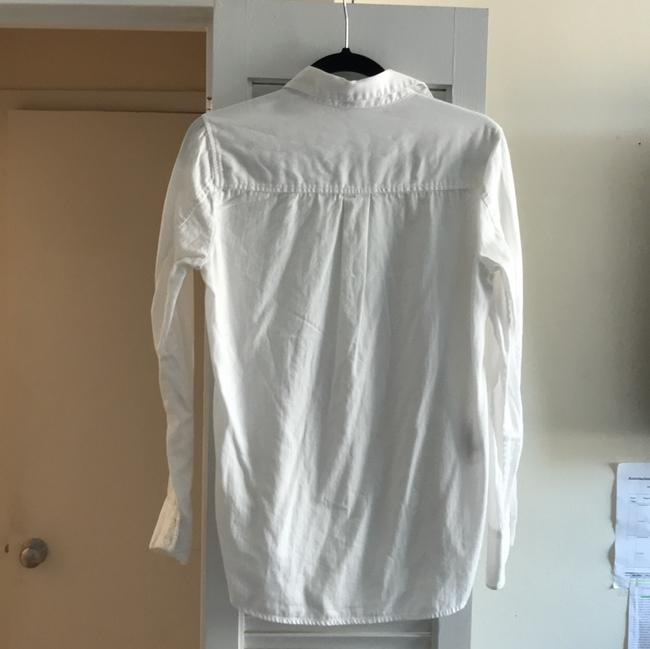 BCBGMAXAZRIA Button Down Shirt White Image 7