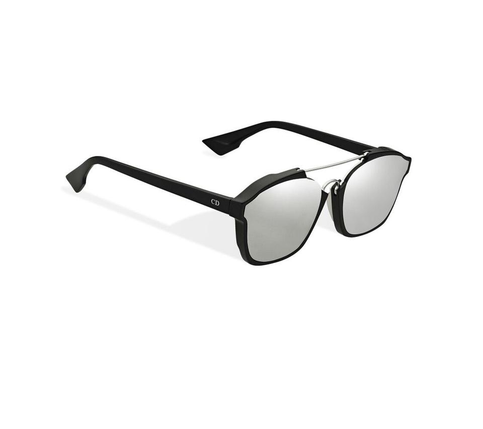 7a78a59c07961 Dior NEW Dior Abstract Sunglasses in Black Silver Mirrored Image 0 ...
