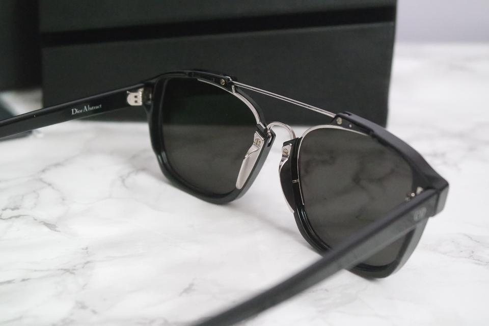 9a582ba294f02 Dior NEW Dior Abstract Sunglasses in Black Silver Mirrored Image 9.  12345678910
