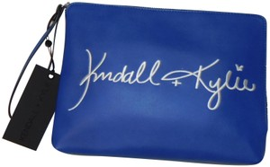 Kendall and Kylie blue Clutch