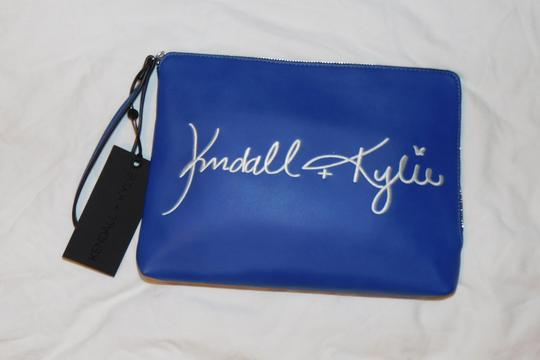 Kendall and Kylie blue Clutch Image 1