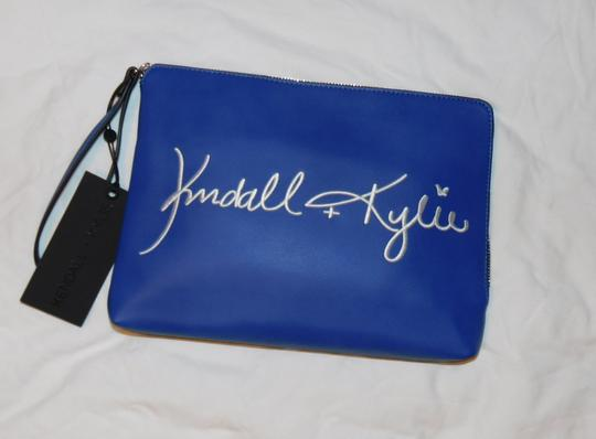 Kendall and Kylie blue Clutch Image 2