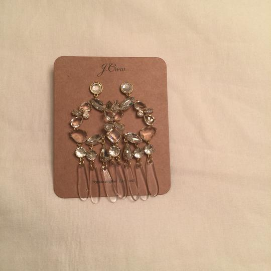 J.Crew j.crew crystal and resin chandelier earring Image 3