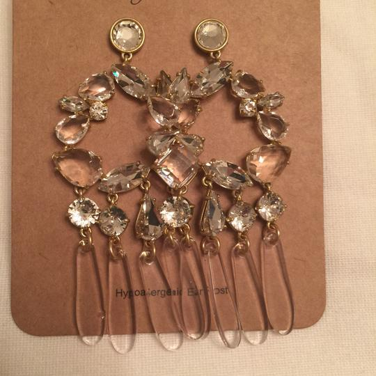 J.Crew j.crew crystal and resin chandelier earring Image 4