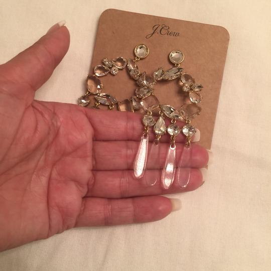 J.Crew j.crew crystal and resin chandelier earring Image 5