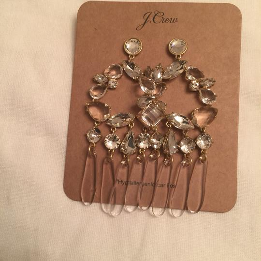 J.Crew j.crew crystal and resin chandelier earring Image 6
