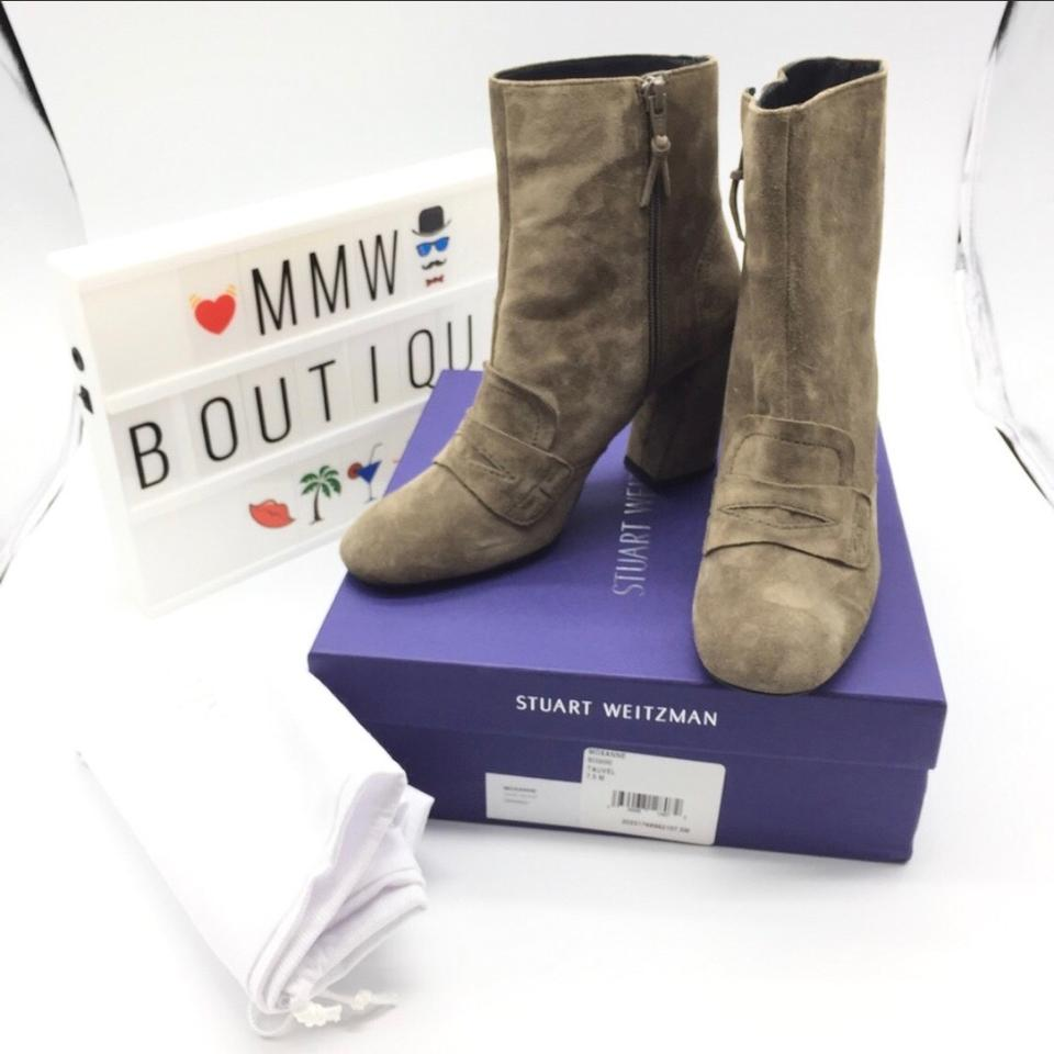 Moxanne Suede Weitzman Booties Boots Tauvel Loafer Stuart BwEcFOqF