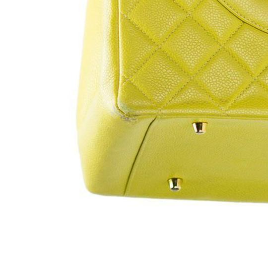 Chanel Yellow Gst Grand Shopping Tote in Green Image 2