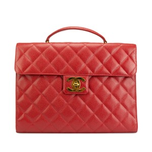 19c1d55085 Red Chanel Laptop Bags - Up to 70% off at Tradesy