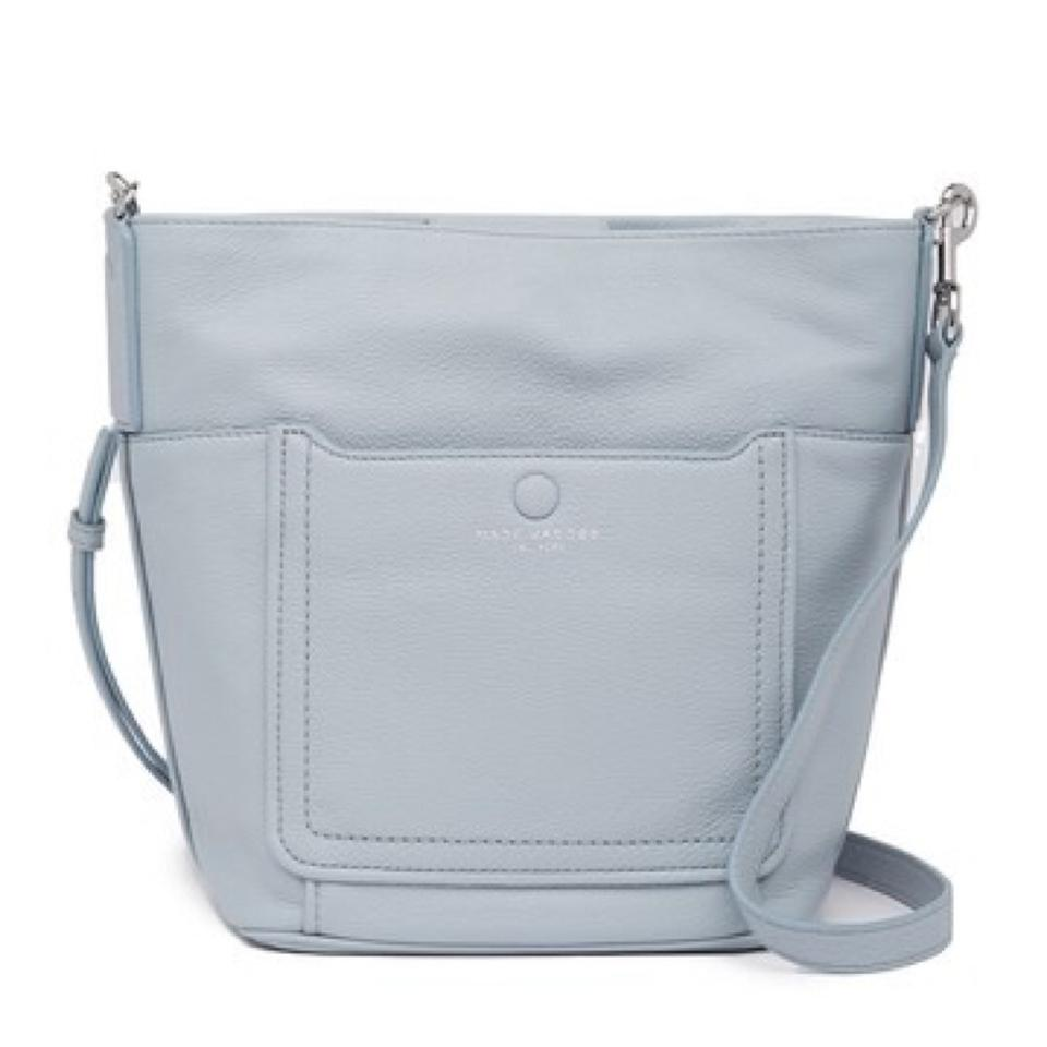 21c8f98bc6ab Marc Jacobs Empire City Bucket Frost Leather Cross Body Bag - Tradesy