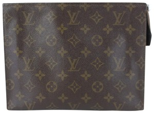 Louis Vuitton Cosmetic Make Up City Cosmos Pouch Brown Clutch