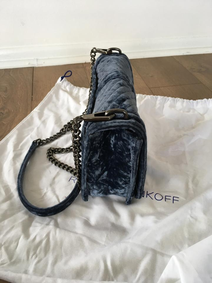 Love Velvet Cross Body Bag Blue Minkoff Quilted Rebecca ZwUgU