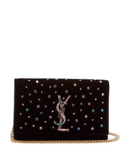 Preload https://img-static.tradesy.com/item/23825422/saint-laurent-monogram-kate-ysl-crystal-embellished-black-velvet-cross-body-bag-0-0-540-540.jpg