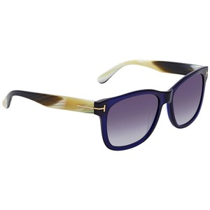6bf322244b Tom Ford Tom Ford Blue Gradient Square Sunglasses FT0395 89W