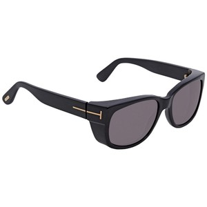 d81d780a247 Tom Ford Tom Ford Grey Rectangular Sunglasses FT0441 01A