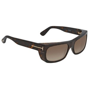 1b67459455f4 Tom Ford Tom Ford Toby Brown Gadient Rectangular Sunglasses FT0440 52K