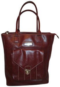 Franklin Covey Man Made Tote Carry All Faux Leather 001 Laptop Bag