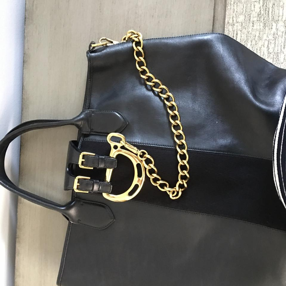 Ralph Lauren Black Label With Leather and Suede Tote - Tradesy c85669e0b984a