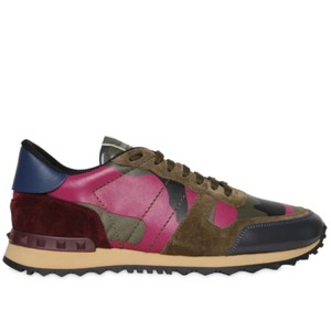 Valentino Maroon, blue and green Athletic